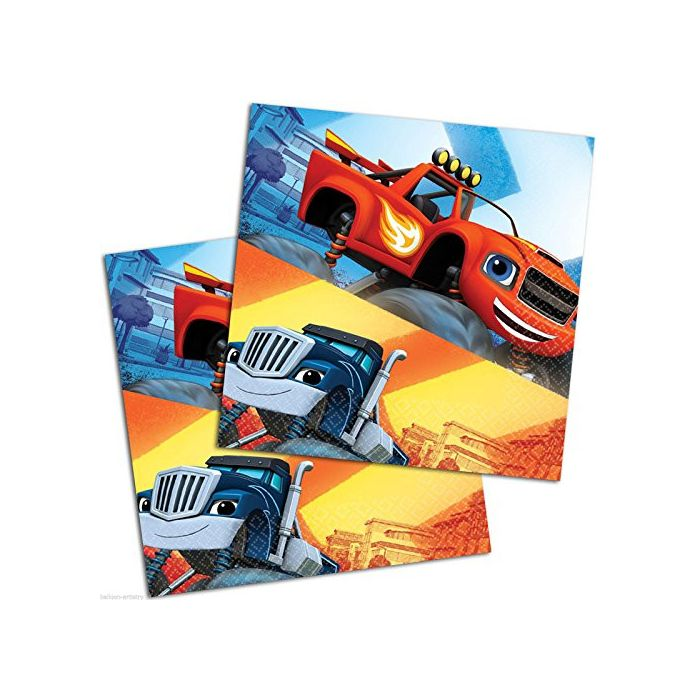 Blaze and the Monster Machines - Party Napkins