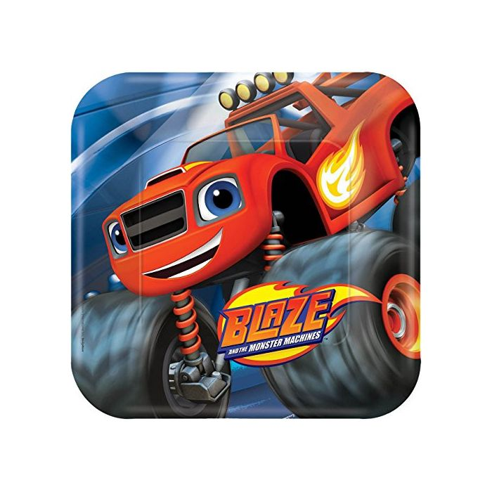 Blaze and the Monster Machines - 23cm Paper Party Plates