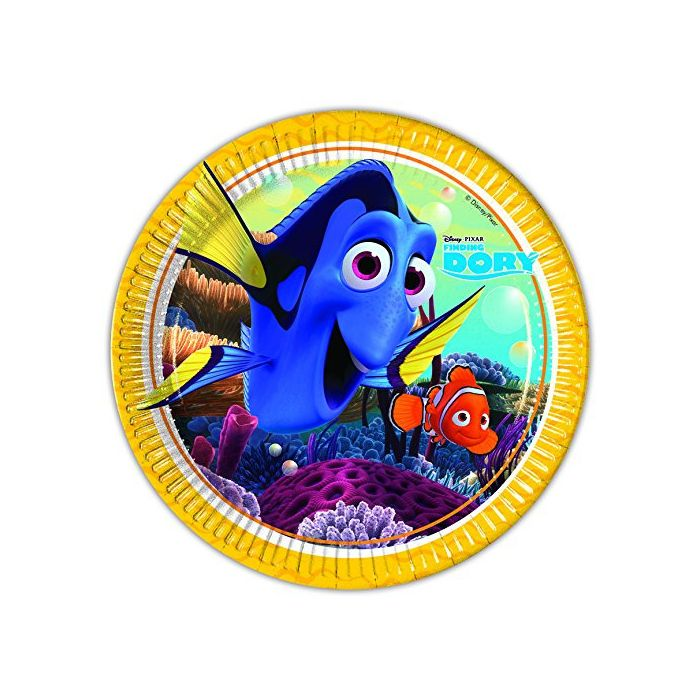 Finding Dory - Paper Plates