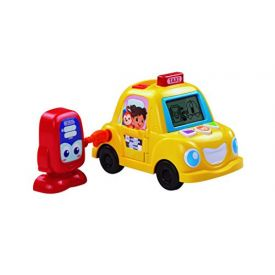 VTech Pre-School Fun Phonics Yellow Taxi Cab