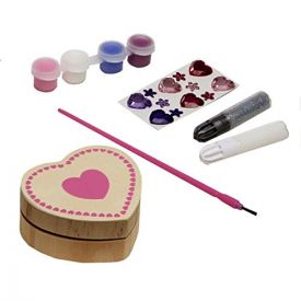 Melissa & Doug - Decorate-Your-Own: Heart Box