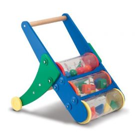 Melissa and Doug Rattle Rumble Push Toy