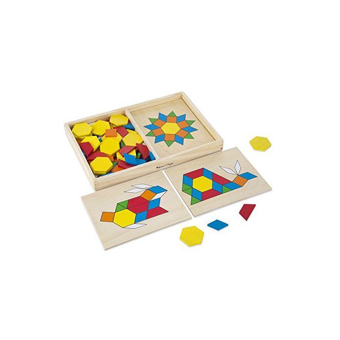 Melissa & Doug - Pattern Blocks and Boards