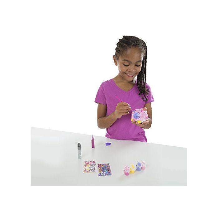Melissa & Doug - Decorate-Your-Own Piggy Bank Craft Kit