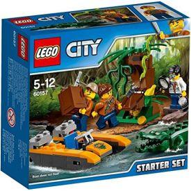 "Lego  60157 ""Jungle Starter Set"" Construction Toy"