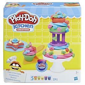 Play doh Kitchen Creations Frost N Fun Cakes Mould Set