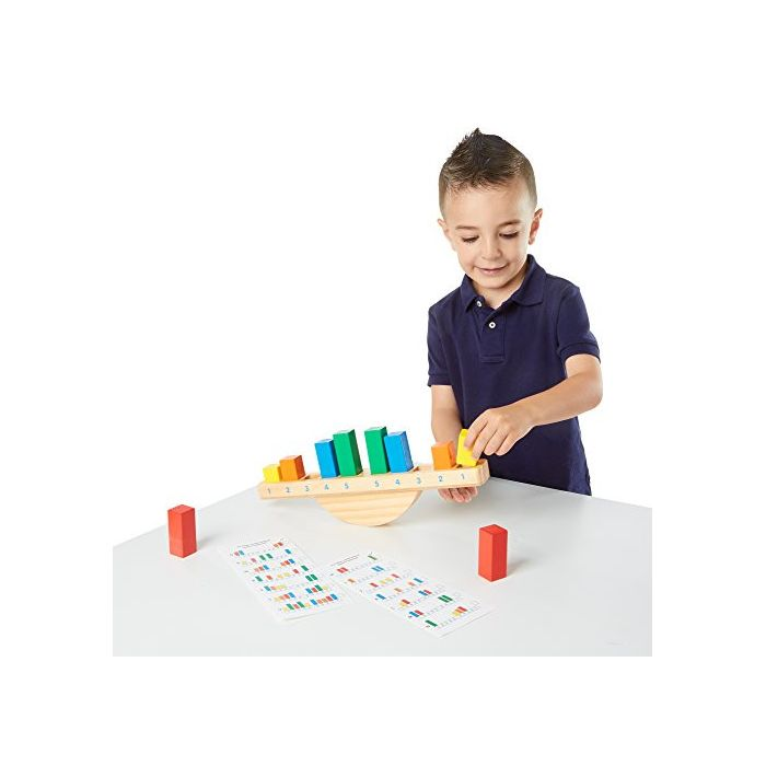 Melissa & Doug Rainbow Balance Wooden Educational Toy