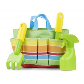Melissa & Doug Sunny Patch Giddy Buggy Toy Gardening Tote Set With Tools