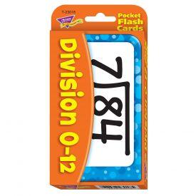Division Pocket Flash Cards