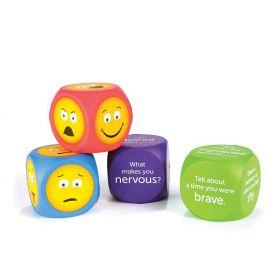 Soft Foam Emoji Cubes