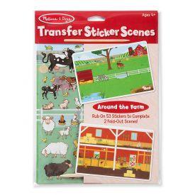 Melissa and Doug Transfer Sticker Scenes - Around The Farm