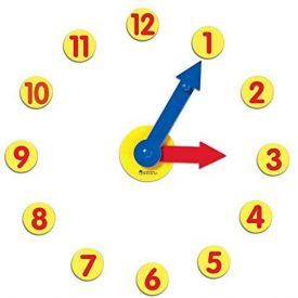 Learning Resources Magnetic Time Geared Clock
