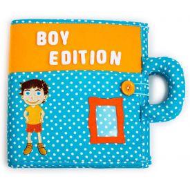 Quiet Book Boy Edition