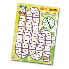 Multiplication 2-10 Buzzle