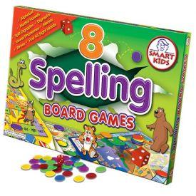 8 Spelling Board Games Level 1