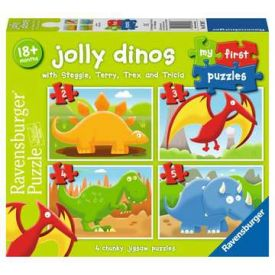 Jolly Dinos My First Puzzle