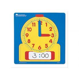 Wipe-Clean Demonstration Clock