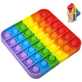 Pop It Rainbow Square