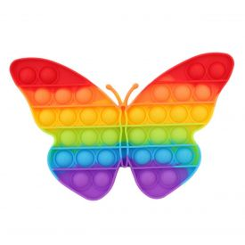 Pop it Rainbow Butterfly