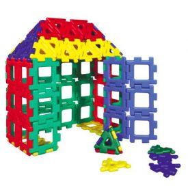 80 pieces giant polydron...