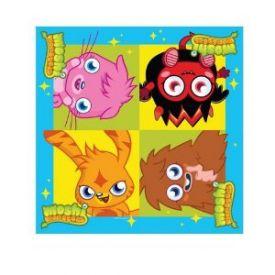 Moshi Monsters Paper Napkins X 16