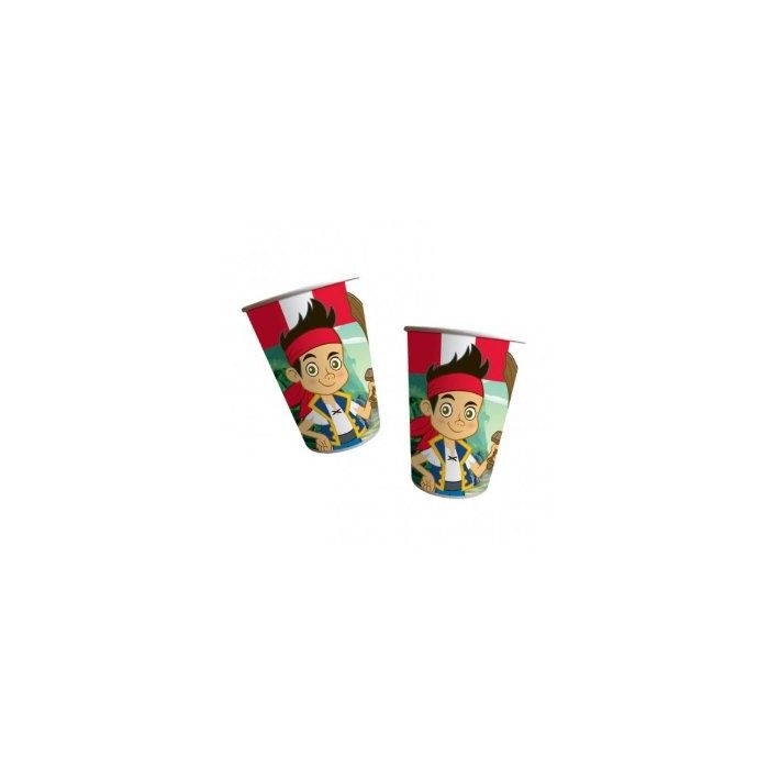 Jake and the Neverland Pirates Party Cups X 8