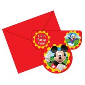 Mickey Mouse - Party Invitations