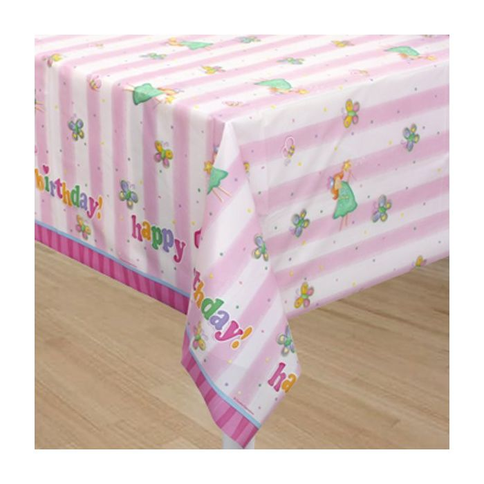 Fun at One Party Girl Party Table Cover