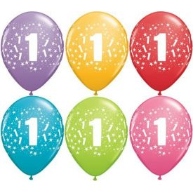 First Birthday Party Balloons
