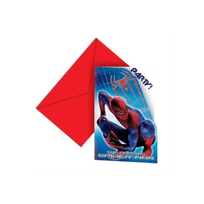 Spider Man Invitations