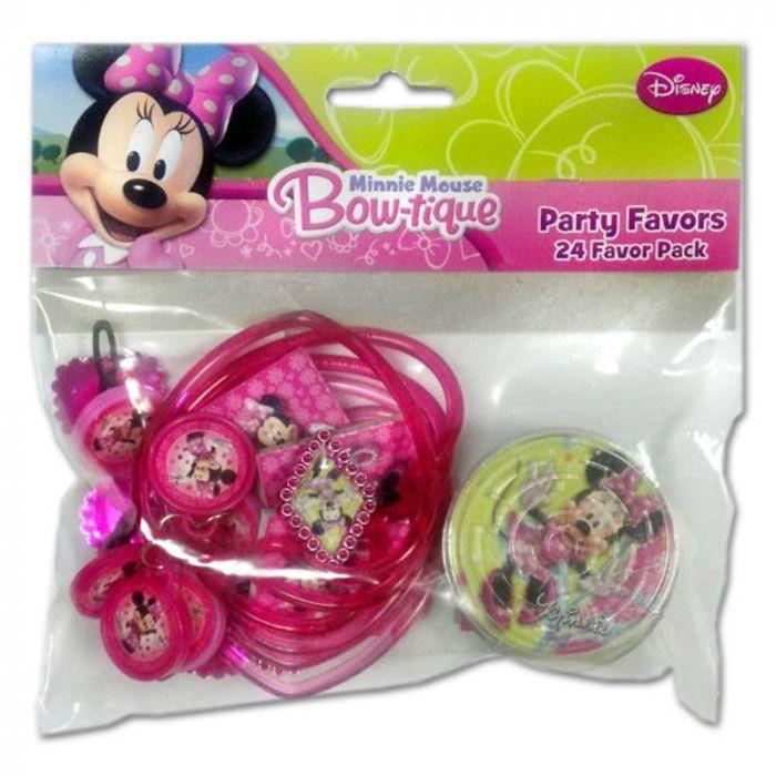 Disney Minnie Mouse Boutique Party Favors
