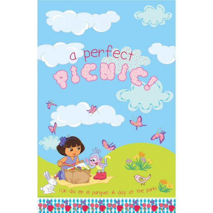 Dora Party Plastic Table Cover