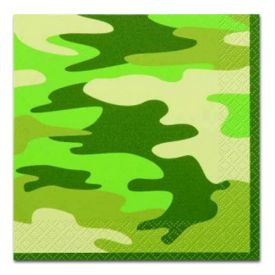 Camouflage Party Pack for 8