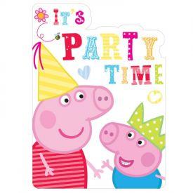 Peppa Pig - Invitations