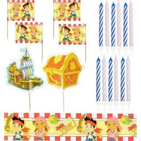 Jake and the Neverland Pirates Party -  Cake Decorating Kit