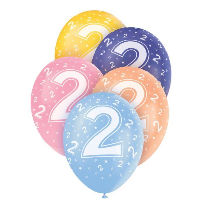 Helium Balloons - Age 2