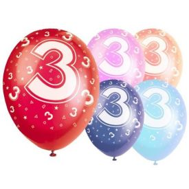 Latex Balloons - Age 3