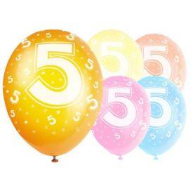 Latex Balloons - Age 5