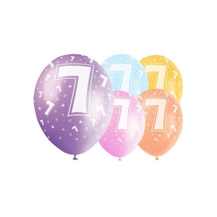 Latex Balloons - Age 7