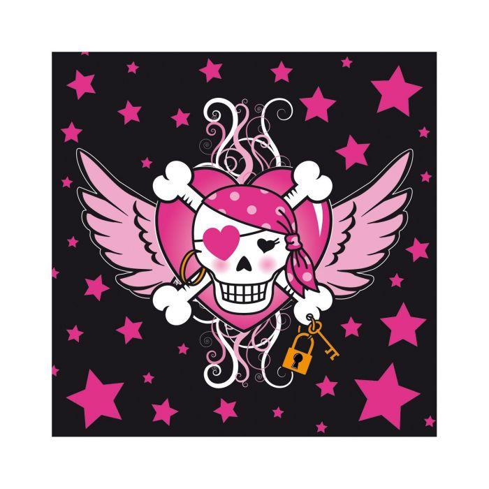 Pirate Girl Napkins