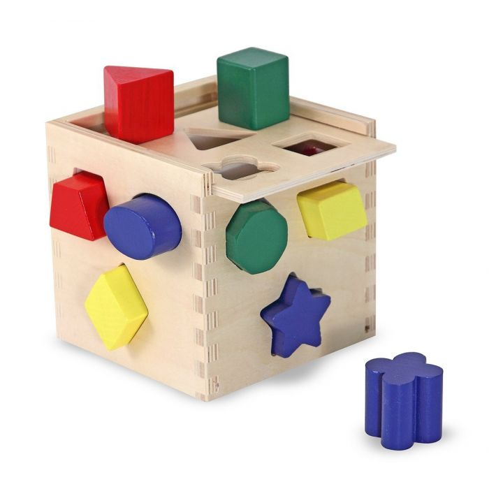 Melissa and Doug - Shape sorting cube