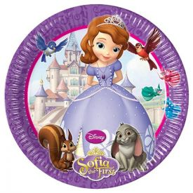 Sofia The First - paper plates