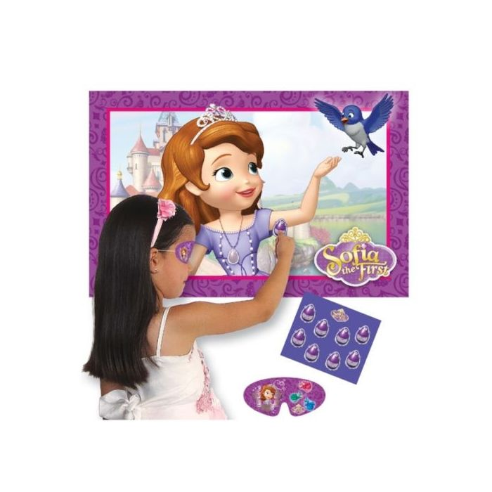 Sofia The First - Stick The Amulet Party Game