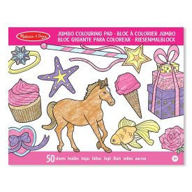 Melissa and Doug - Jumbo Colouring Pad