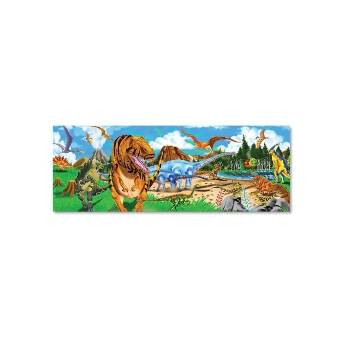 Melissa and Doug - Land of Dinosaurs Floor Puzzle