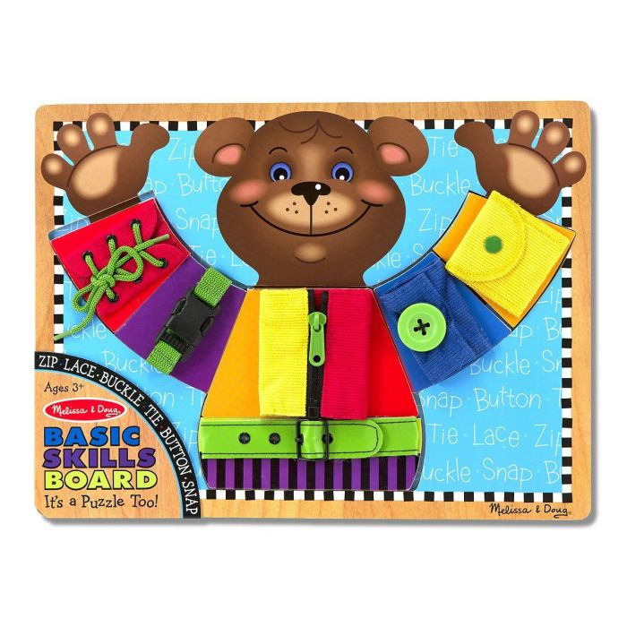 Melissa and Doug - Basic Skills Board