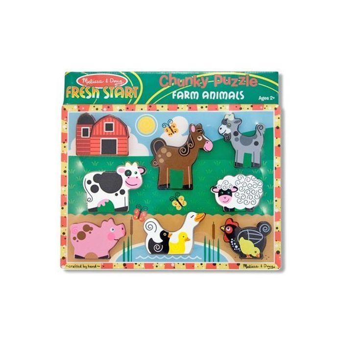 Melissa and Doug - Farm Chunky Puzzle
