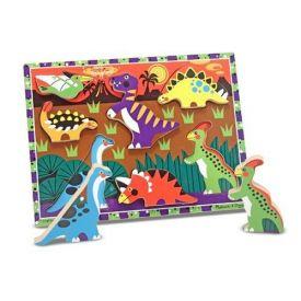 Melissa and Doug - Dinosaur Chunky Puzzle