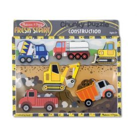 Melissa and Doug - Construction Chunky Puzzle