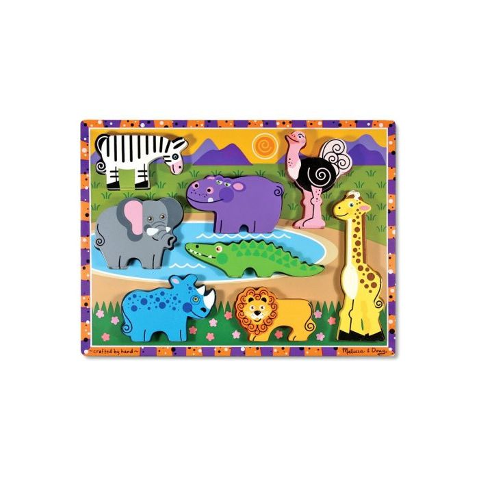 Melissa and Doug - Safari Chunky Puzzle